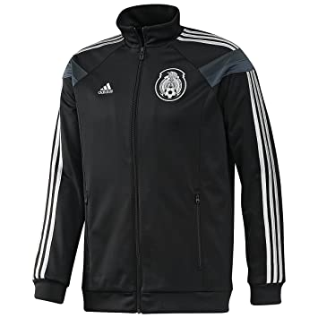 Amazon.com : adidas Mexico Anthem Track Top Black Jacket (XS ...