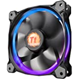 Thermaltake Riing 12 RGB LED 120mm Adjustable Color Case Radiator Fan - Single Pack CL-F042-PL12SW-A