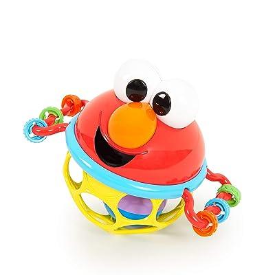 Bright Starts Sesame Street Jingle & Shake Elmo Easy Grasp Rattle, Ages 3-12 Months : Baby [5Bkhe0903656]