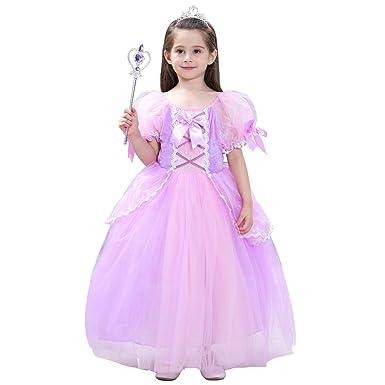 1d9be7373dea8 ソフィア ドレス コスチューム なりきりキッズドレス 子供 お姫様 プリンセス 女の子 ワンピース (100cm)
