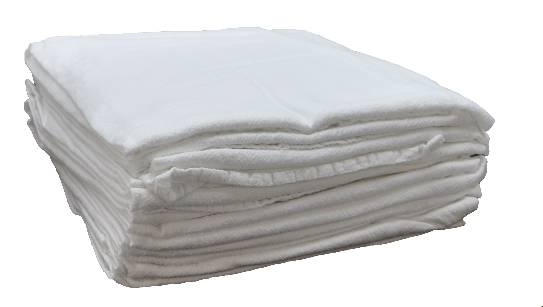 Nouvelle Legende Cotton Flour Sack Towels Commercial Grade 28in X 29in (4-Pack)