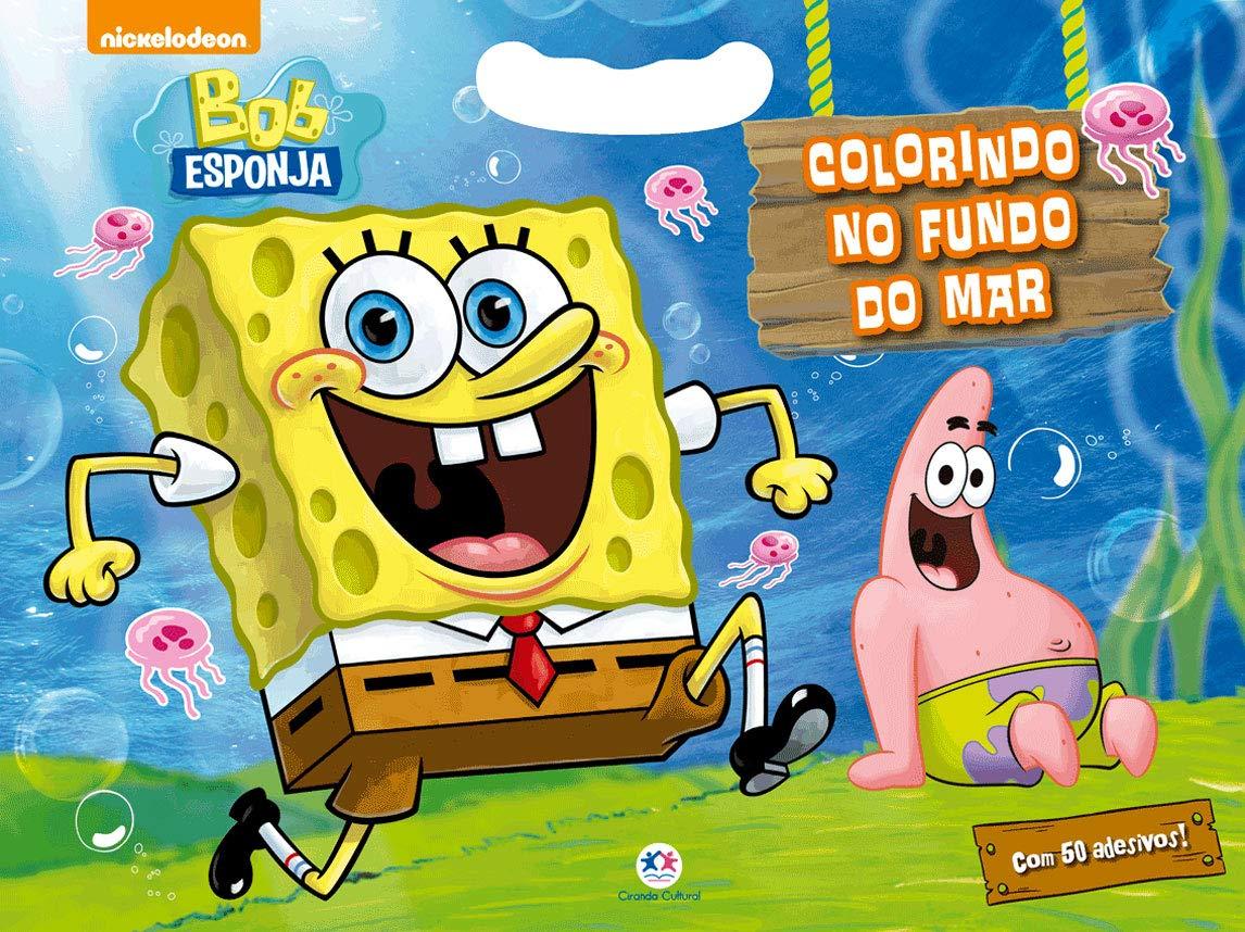 Bob Esponja Colorindo No Fundo Do Mar Ciranda Cultural