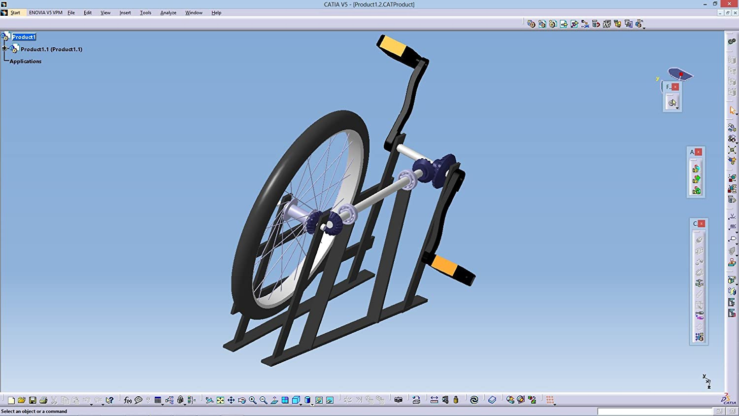 Mechanical Engineering Project [ Shaft Driven Cycle ] +