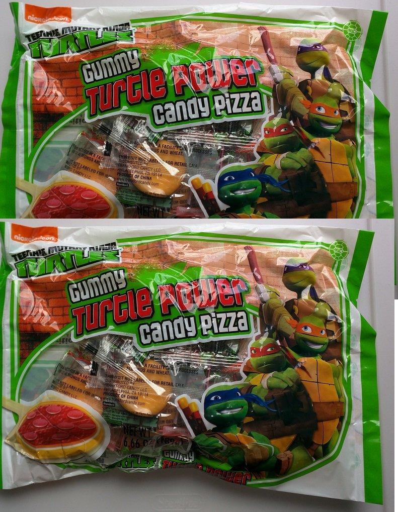 Teenage Mutant Ninja Turtles Gummy Turtle Power Candy Pizza ...