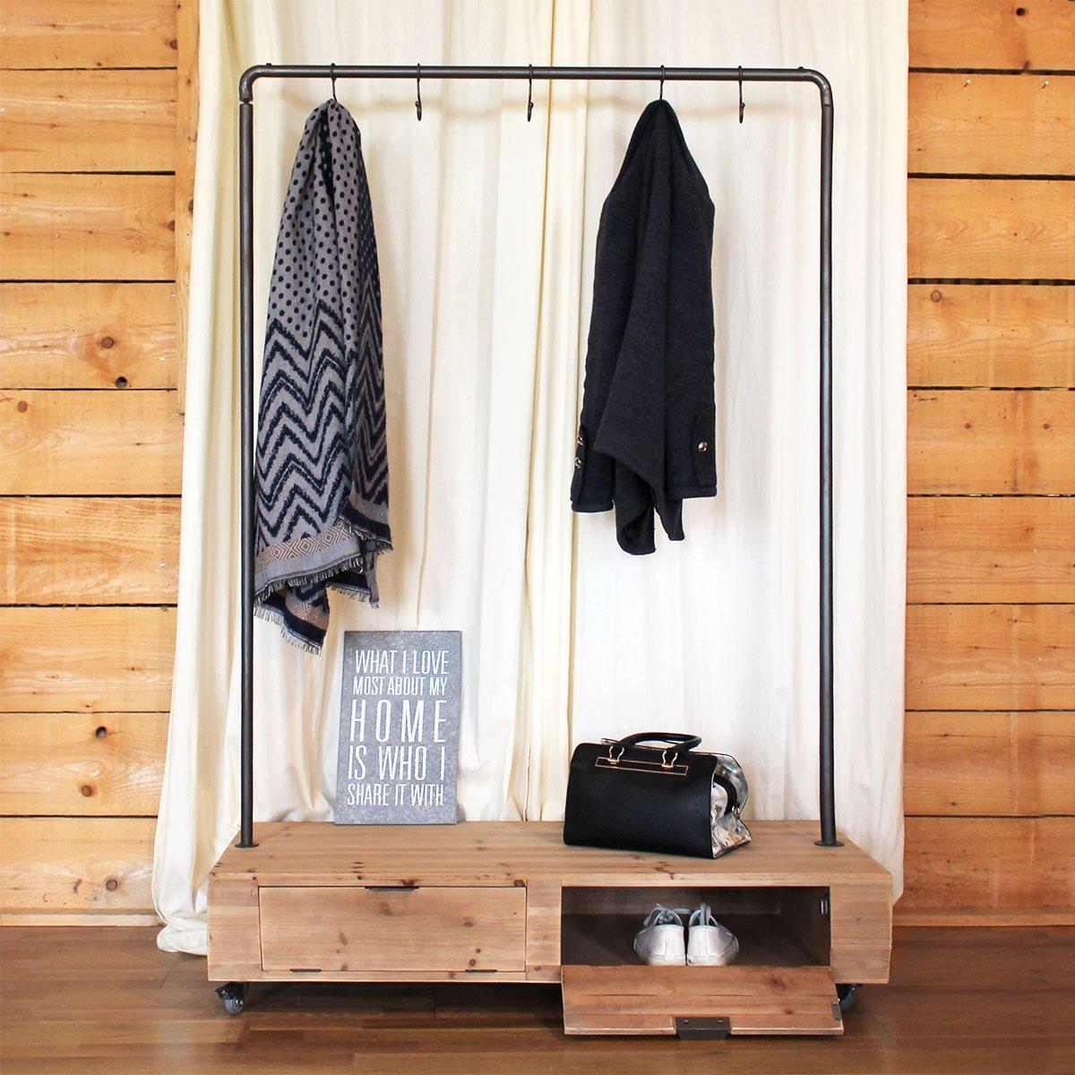 Kleiderschrank auf Rollen | Y31