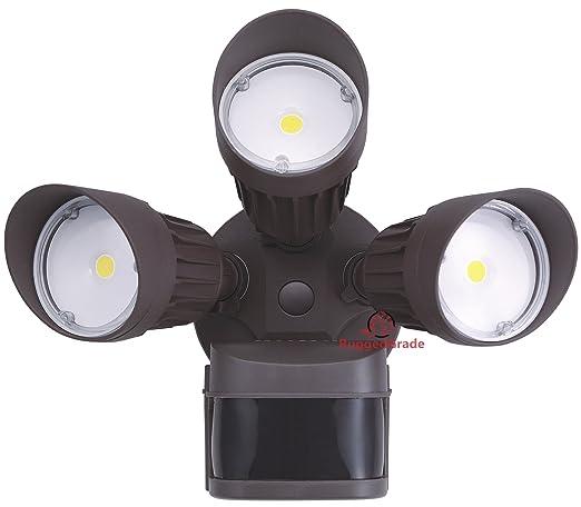 30 watt led motion sensor flood light bronze color housing 2 30 watt led motion sensor flood light bronze color housing 2600 lumen super aloadofball Gallery