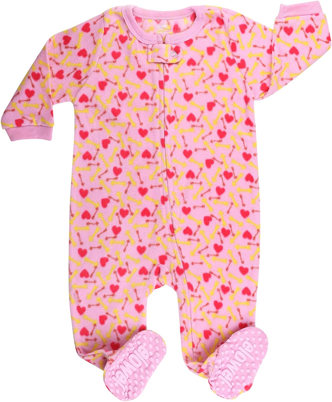 elowel 6m,12m,18m,2,3,4,5ans Couleurs Disponibles: Multicolore Rouge Ajustement Serr/é Pyjama Fille V/êtements De Nuit /À Pied Rose 1 Pi/èce Disponible en Diff/érente Designs Polyester
