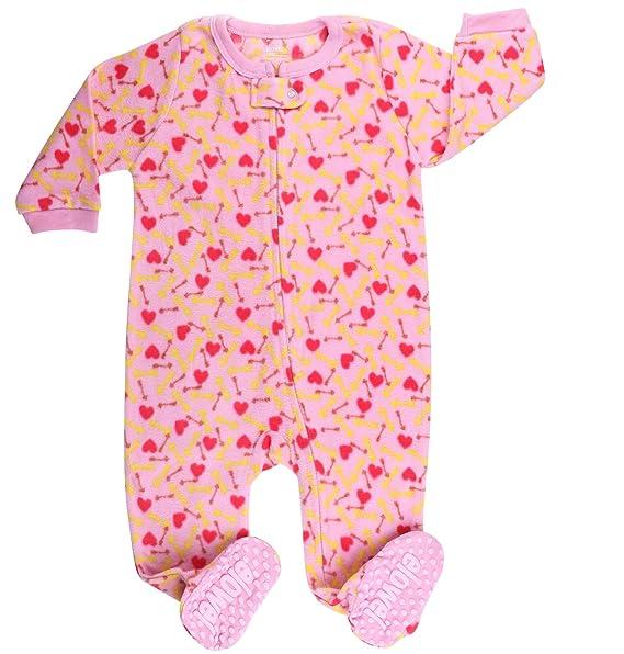 Elowel - Pijama para Bebe Nina, (Talla 6 m-5 Anos),