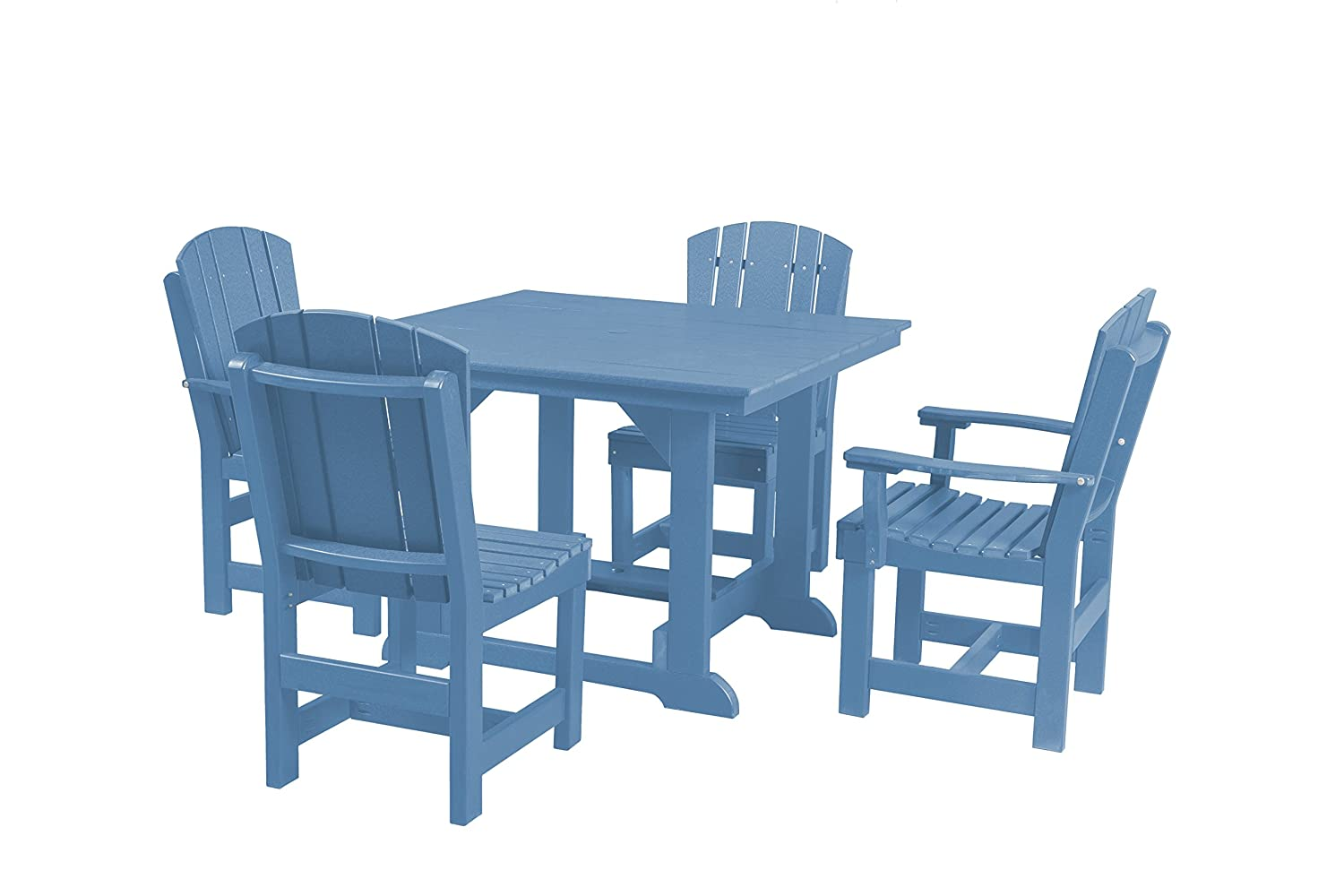 Amazon.com : Wildridge Heritage 44x44 Table with 4 Dining Chairs ...