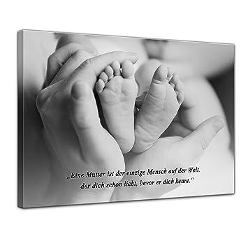 sprüche mutterliebe Leinwandbild mit Zitat   Mutterliebe   (Unbekannt) 50x40 cm  sprüche mutterliebe