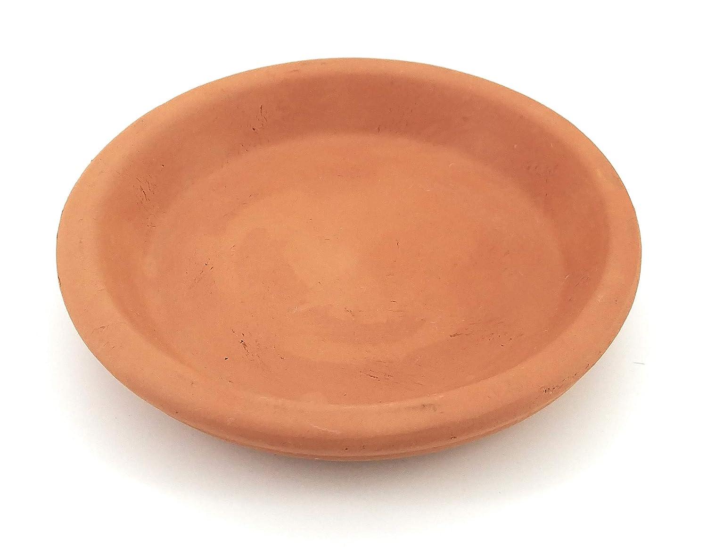 New England Pottery Terra Cotta Saucer 5