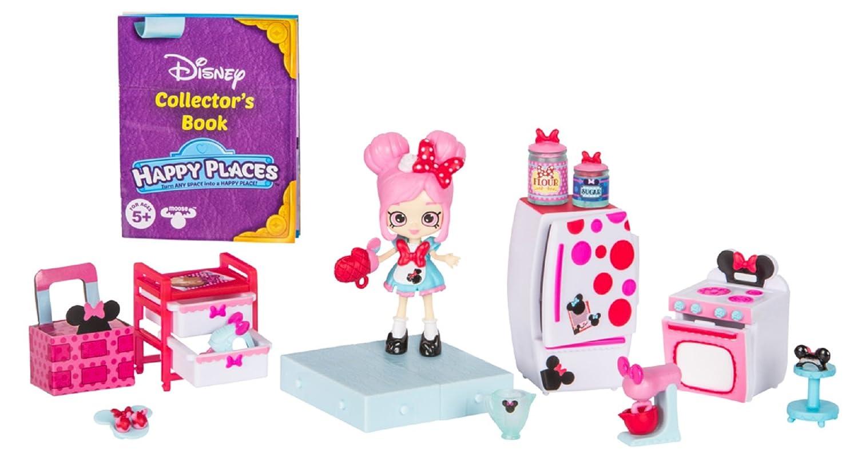 Amazon.com: Happy Places Disney Season 1 Minnie Mouse Cupcake ...