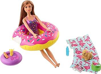 Oferta amazon: Barbie Accesorios Muñeca para la Playa o Piscina (Mattel FXG38) , color/modelo surtido