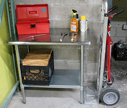 Stainless Steel Front Drawer for Food Prep Work Table14.7 x 20 x 8