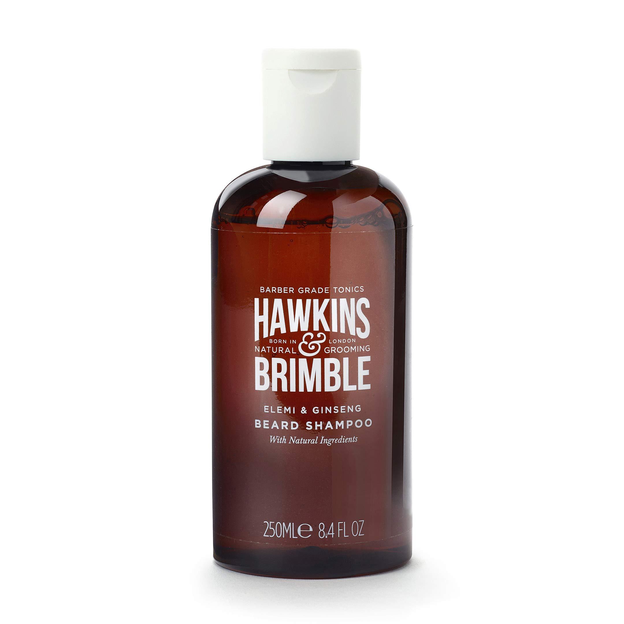 Hawkins & Brimble Beard Shampoo for Men, 250ml - Wash Softens Support Growth & Maintain Chin Fuzz