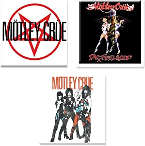 Motley Crue 3 X Fridge Magnet Band Logo Official Gift Set