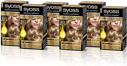 SYOSS, Coloración permanente - 6 unidades - Sin Amoníaco Tono ...
