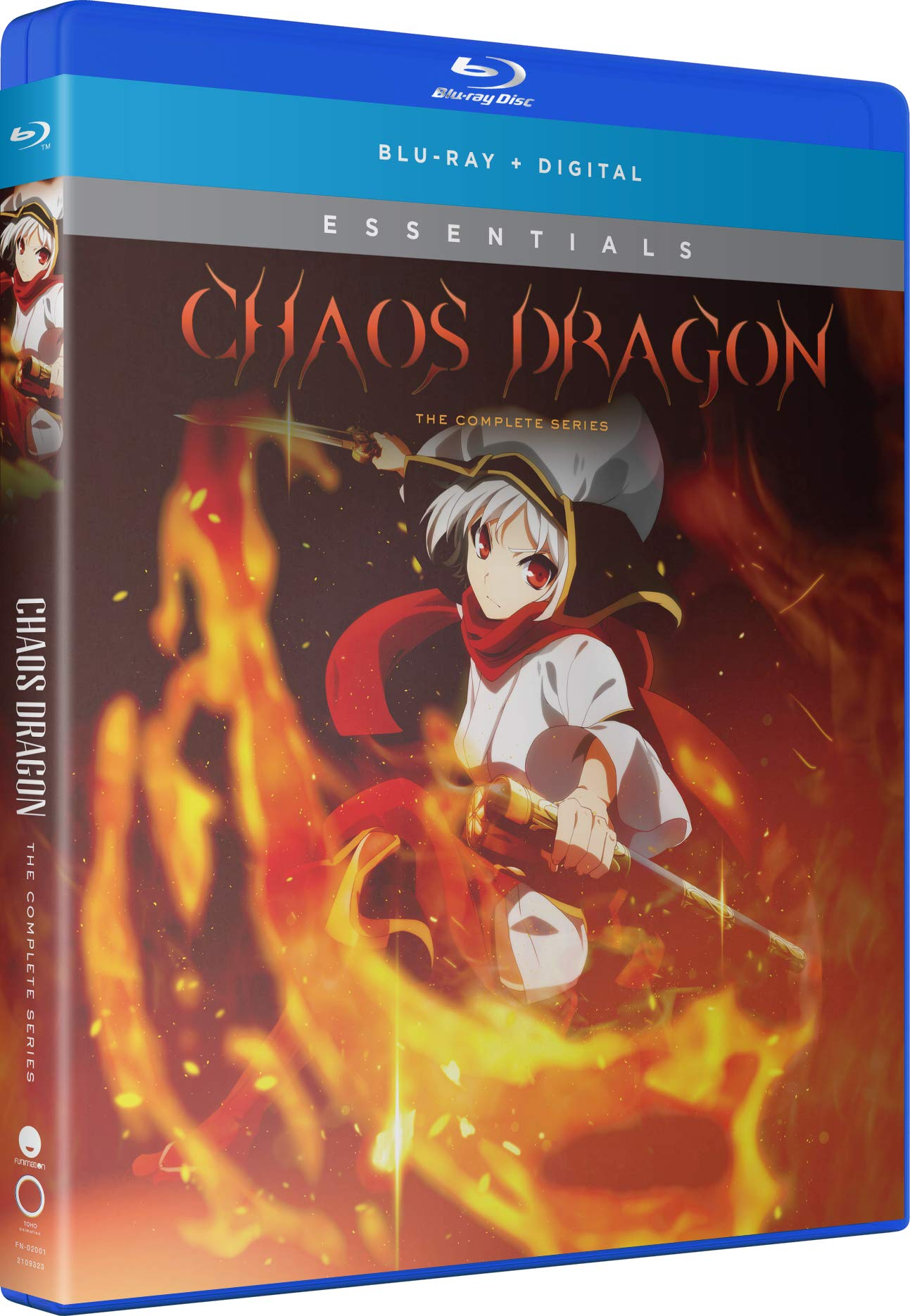 Blu-ray : Chaos Dragon: Complete Series (2 Pack, Subtitled)