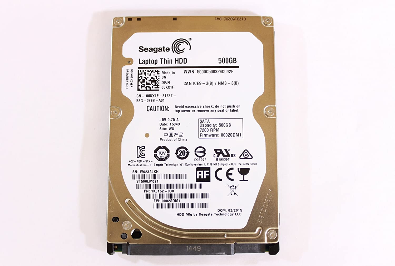 """Dell 0KX1F ST500LM021 2.5"""" Thin 7mm HDD SATA 500GB 7200 Seagate Laptop Hard Drive Latitude"""
