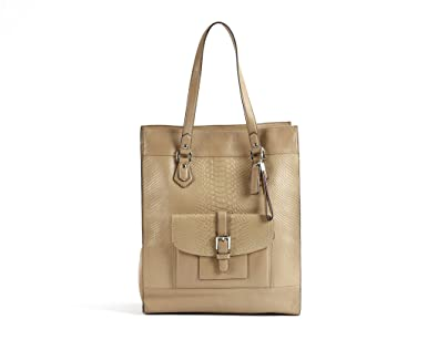 Image Unavailable. Image not available for. Color  Coach Charlie Leather  Shoulder Tote ... 72df45e4a4986