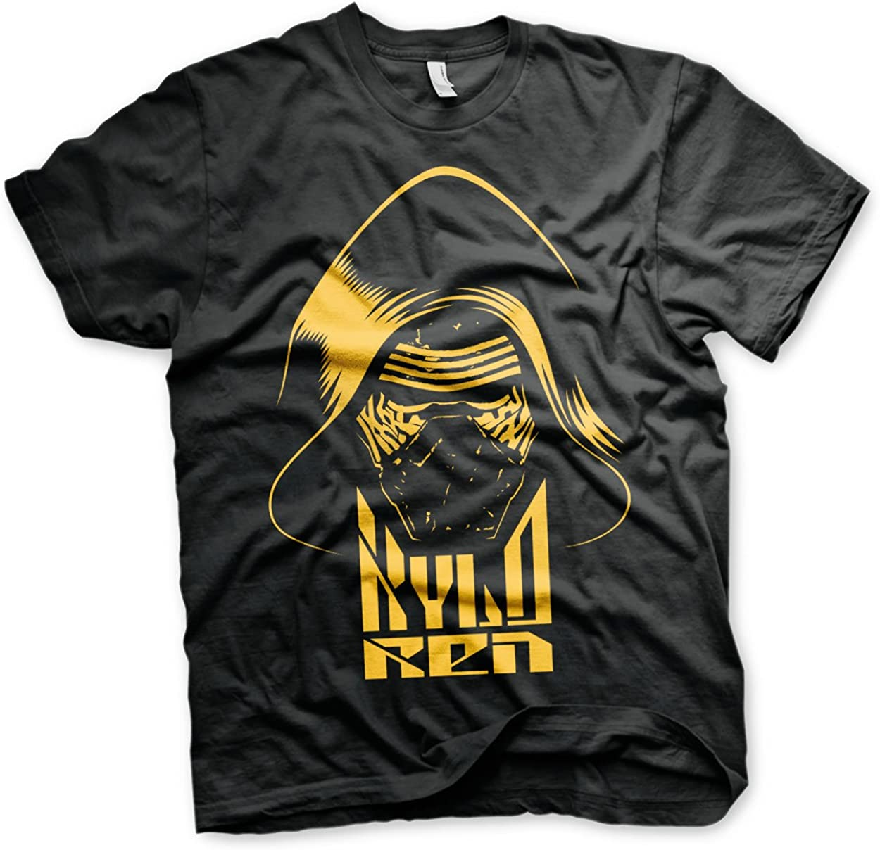 4XL Officially Licensed Star Wars 5XL Men/'s T-Shirt Kylo Ren BIG /& TALL 3XL