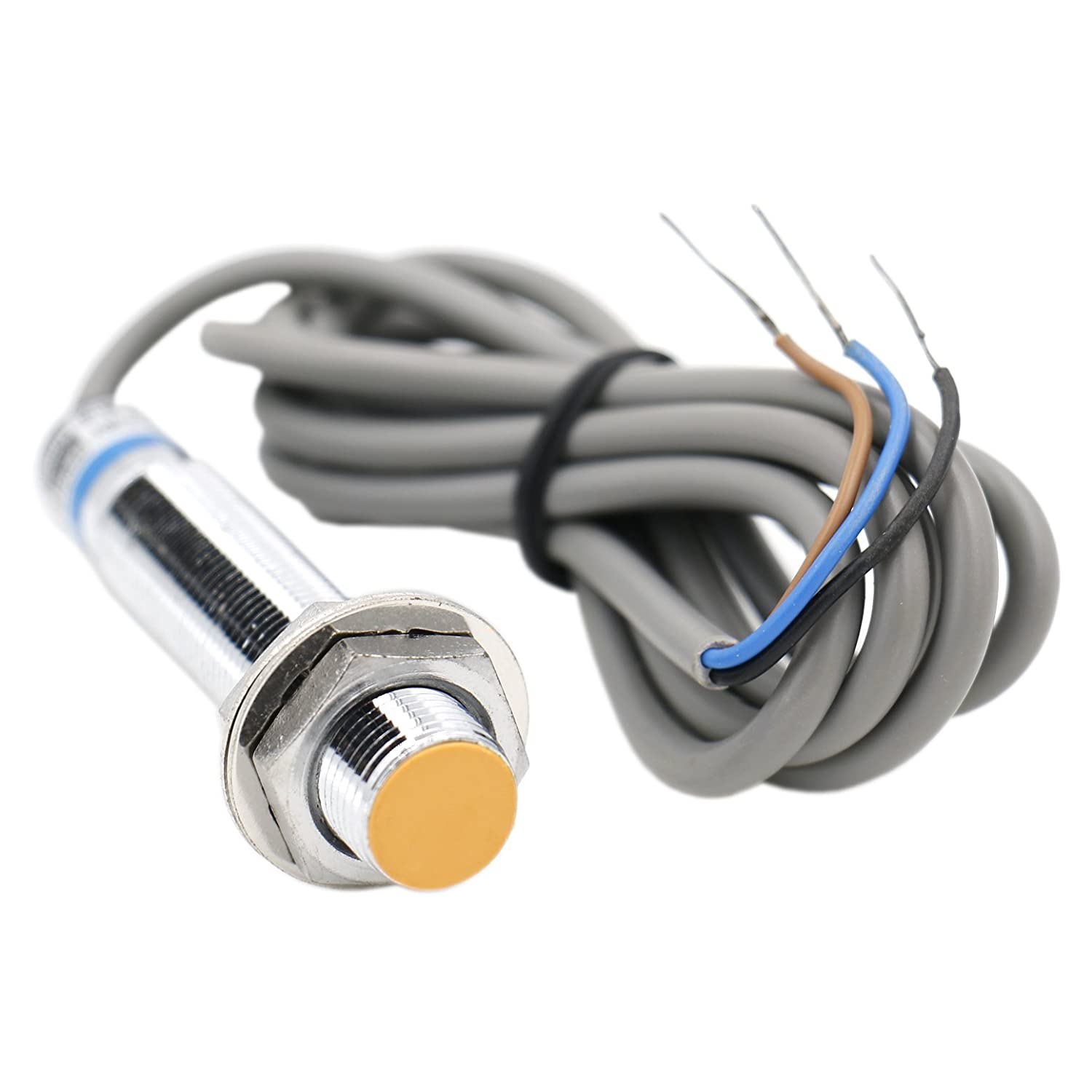 Heschen inductive proximity sensor switch LJ12A3-2-Z/BY detector 2 mm 6-36 VDC 300mA PNP normally open(NO) 3 wire Heschen Electric Co.Ltd HS-LJ12A3-2-Z/BY