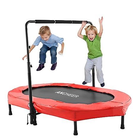 Ancheer Trampolino Elastico Per Saltare Per Bambini Rosso Amazon
