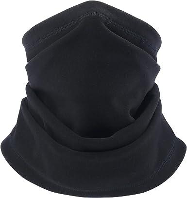 hikevalley Neck Warmer Gaiter Winter Ski Face Mask Winterproof Hood Cover
