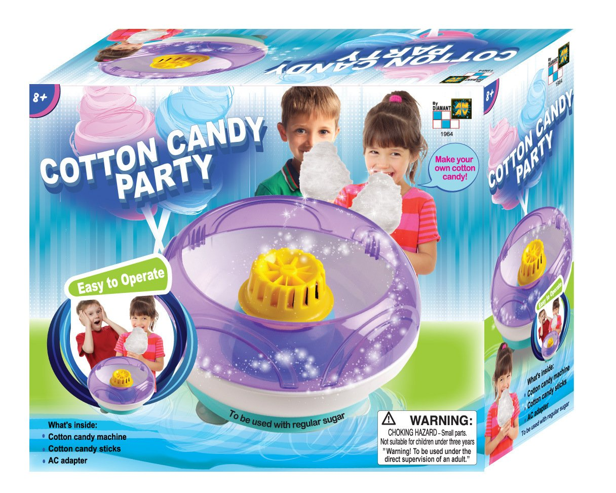 AMAV Cotton Candy Maker Toy - DIY Make Your Own Cotton Candy using Regular Sugar