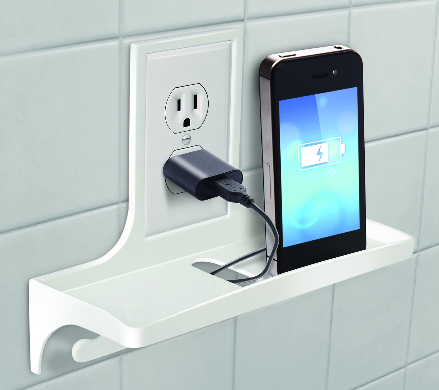 Amazon.com: Wall Outlet Organizer Storage for your Home Office ...