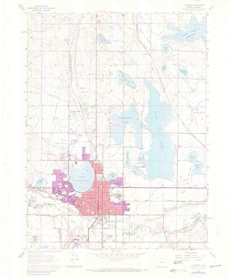 Amazon.com : YellowMaps Loveland CO topo map, 1:24000 Scale ...