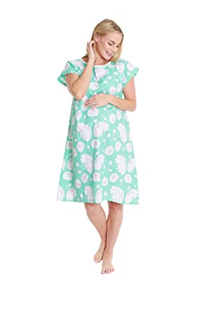 65f10f423c3e2 Gownies - Labor & Delivery Maternity Hospital Gown (S/M pre Pregnancy 0-