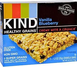 product image for Kind Bar Granola Bars Vanilla Blueberry, 1.2-Ounce Bars, 5 Bars per Box, Pack of 8 Boxes (Total 40 Bars)