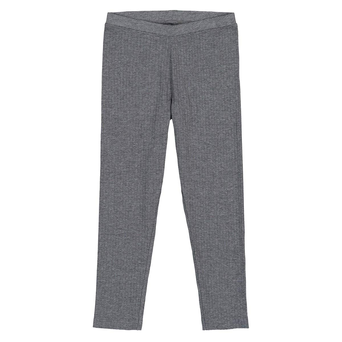 3-12 Years La Redoute Collections Big Girls Ribbed Leggings