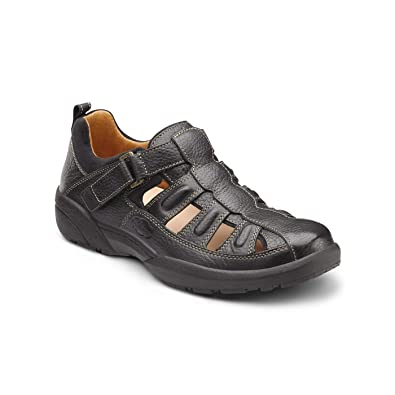 3d80d45b4f Amazon.com | Dr. Comfort Fisherman Men's Therapeutic Diabetic Extra Depth  Sandal Leather | Shoes