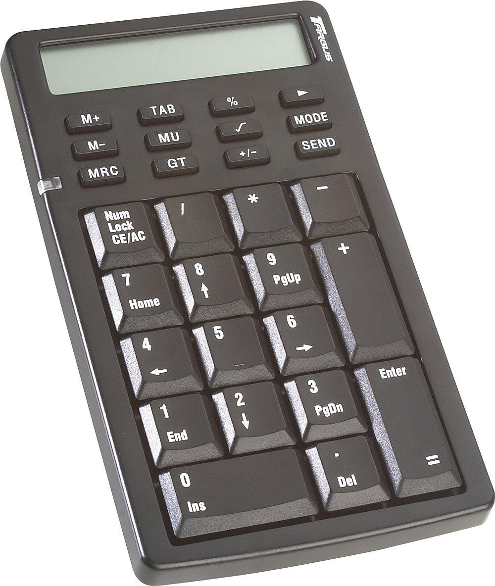 Targus USB Retractable Calculator/Keypad (PAUK001U)