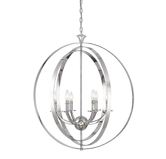 Amazon.com: Savoy House Dumont - Lámpara de techo (6 luces ...