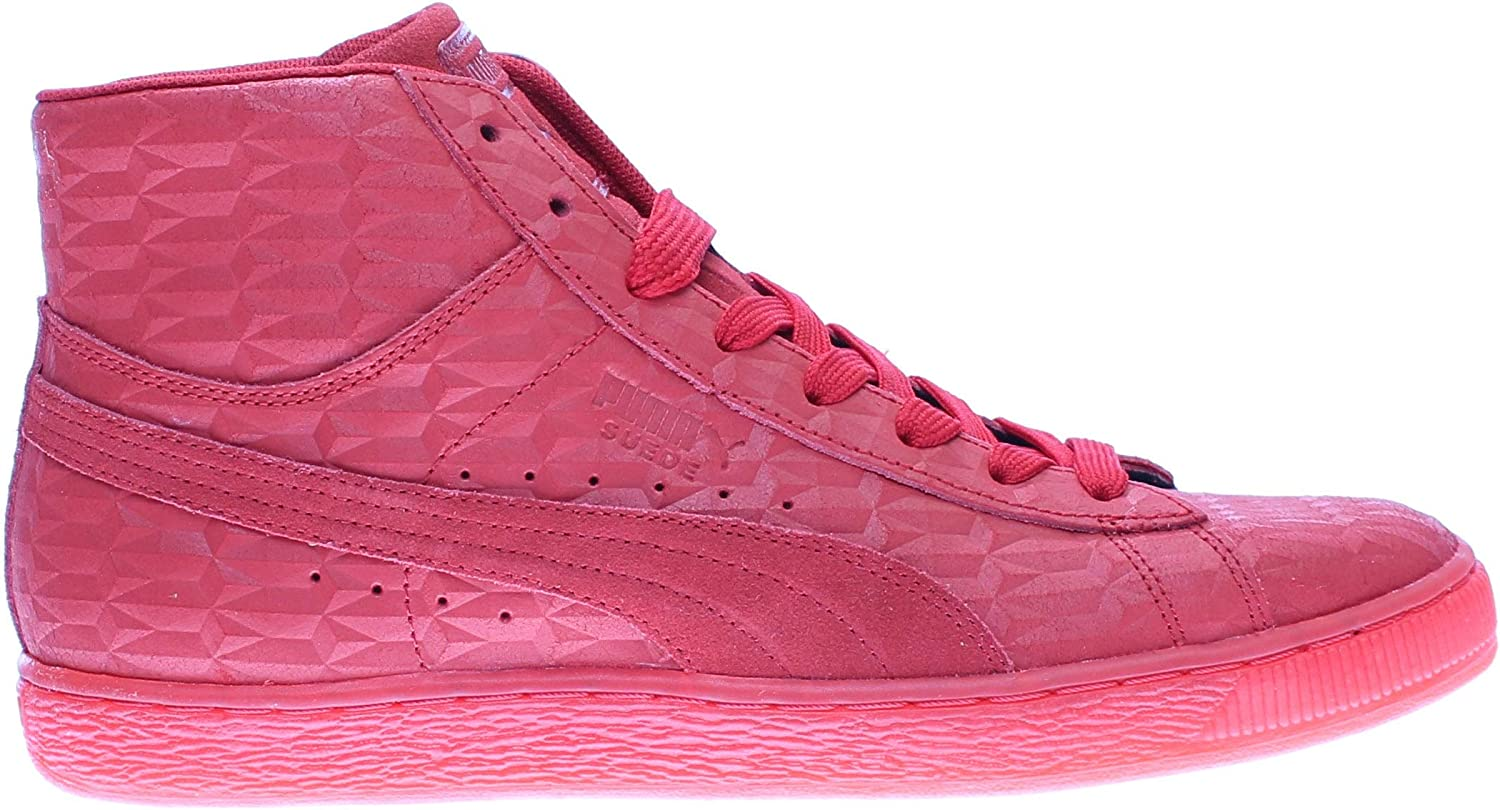PUMA Mens Suede Mid Me Iced Lace