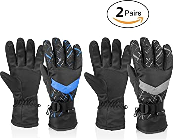 Huo Zao Unisex Winter Snow Ski Gloves