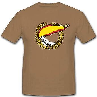 Bandera de España antorcha Espana Heimat bandera antorcha Bandera Patria – Camiseta #3093 arena S: Amazon.es: Ropa y accesorios