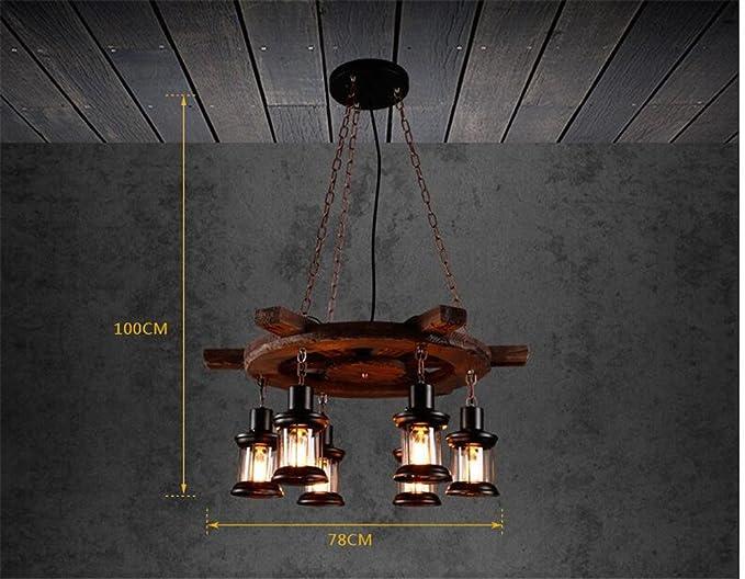 Plafoniere Da Esterno Antiche : Shengye stile rustico plafoniera lampada a sospensione antico