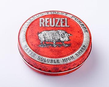 Reuzel Red Cire Pour Cheveux Rockabilly A Base D Eau Tenue Forte