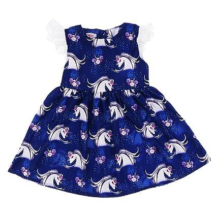 D DOLITY Vestido de Fiesta de Dama para Bebés Adecuado para Jugar Aire Libre Fiesta de