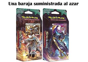 Pokemon JCC- Sol y Luna: Albor de Guardianes Español (1 baraja al Azar), Color (The Pokémon Company POSMGR01)