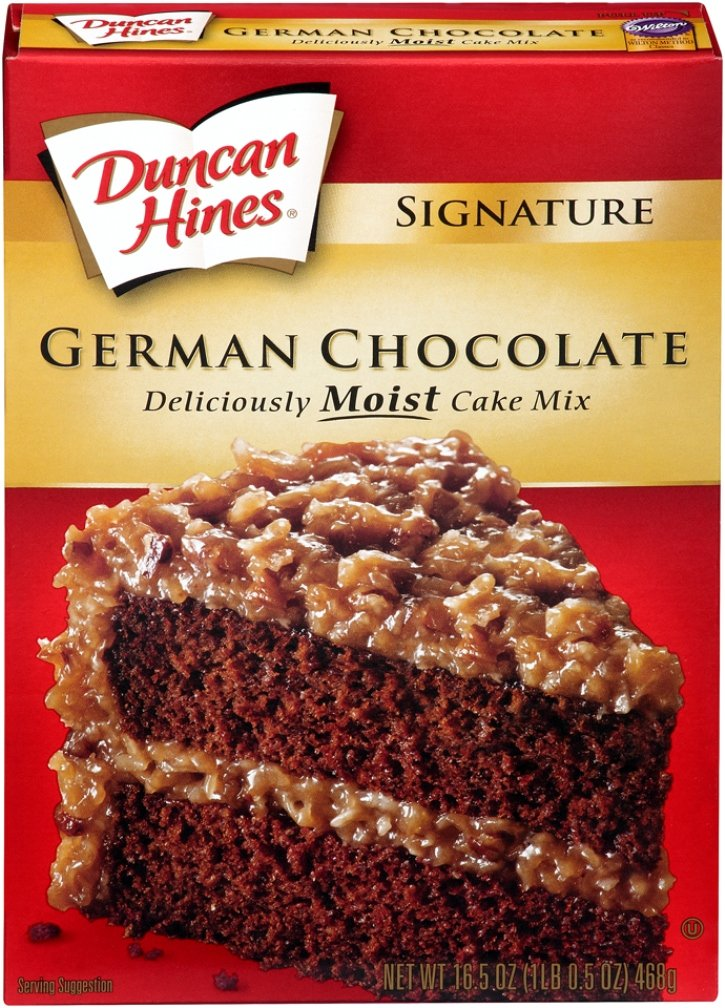 Duncan Hines Decadent German Chocolate Cake Mix Recipes