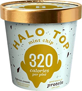 product image for Halo Top, Mint Chip Ice Cream, Pint (4 Count)