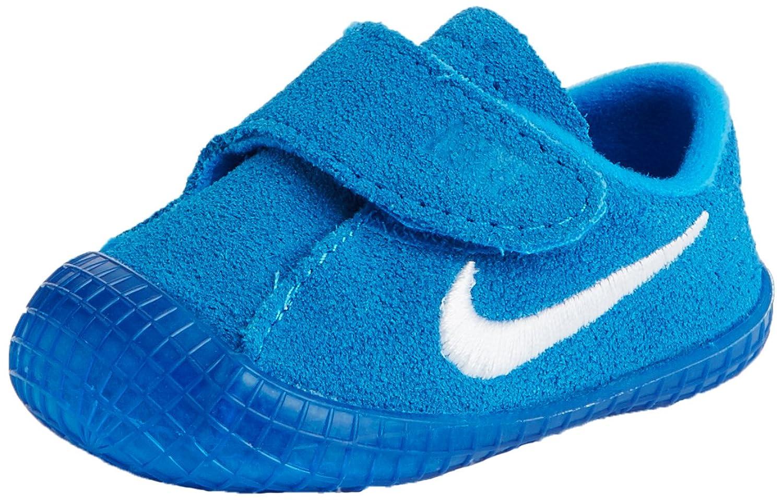 Amazon.com | Nike Waffle 1 (CBV) Baby Shoe (2 M US Toddler, Photo  Blue/White) | Sneakers