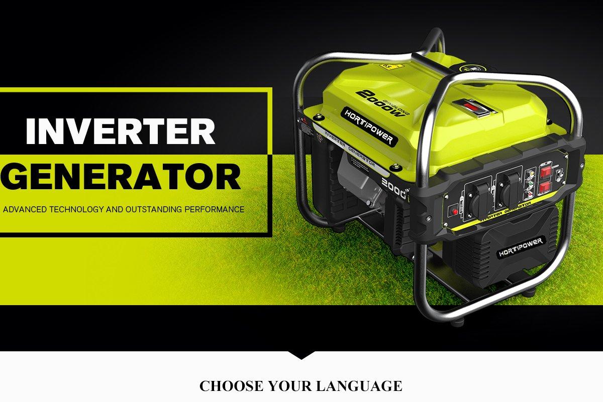Generator Generator 2000/W tragbar Benzin Starter einfach