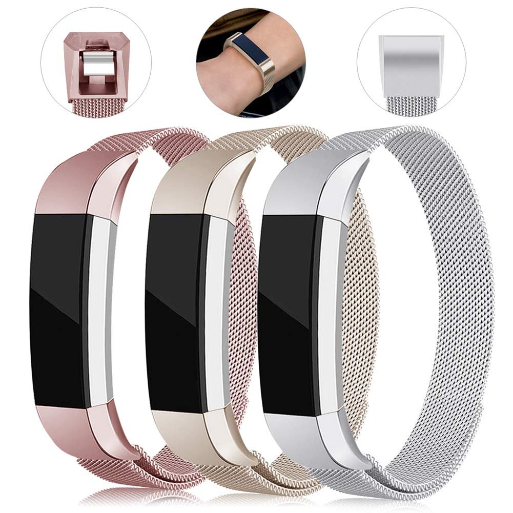 YUNLIN Compatible with Fitbit Alta HR/Alta Bands Women Men Sport Wristbands Fashion Special Adjustable by YUNLIN