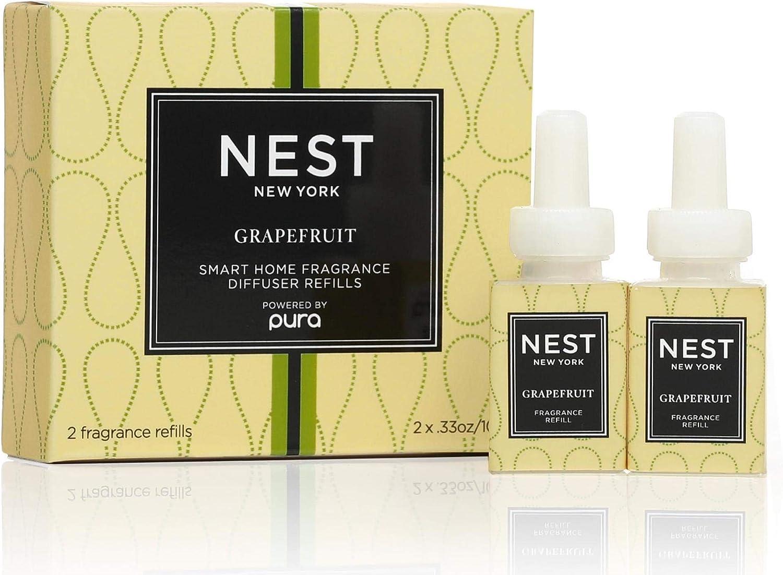 NEST Fragrances Smart Home Fragrance Diffuser Refill (Set of 2)- Grapefruit